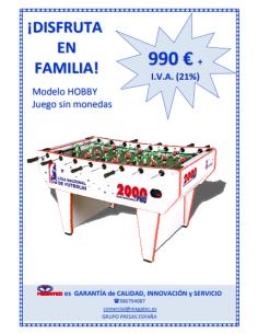 2000 PRO HOBBY (HOME, especial para casa)