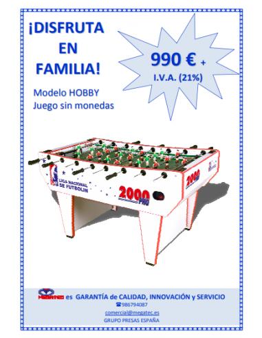 2000 PRO HOBBY (HOME, especial para...